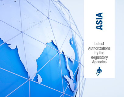 Q4'19 – Latest Authorizations by the Regulatory Agencies – Asia