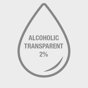 alcoholic transparent