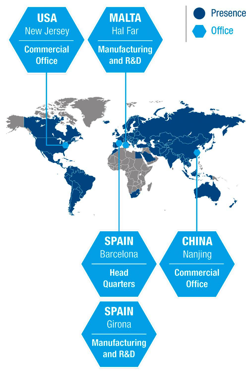 Medichem Worldwide Presence